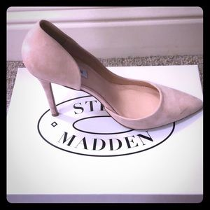 Suede Steve Madden heels